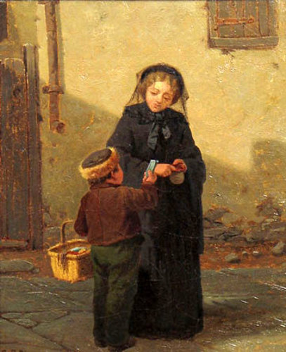 The Young Peddler - The Young Salesboy