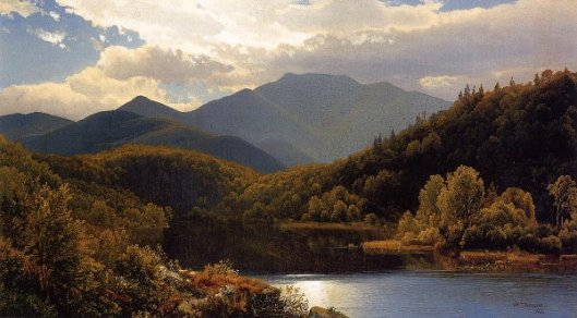 View In The White Mountains - The High Peaks, Adirondacks
