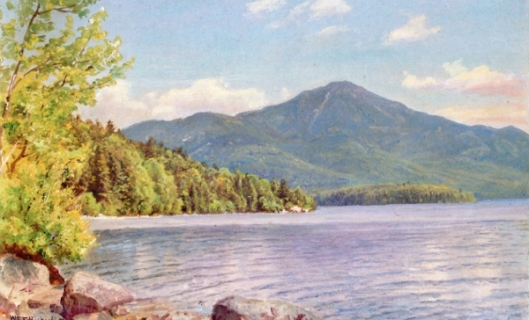 White Face Mountain From Lake Placid