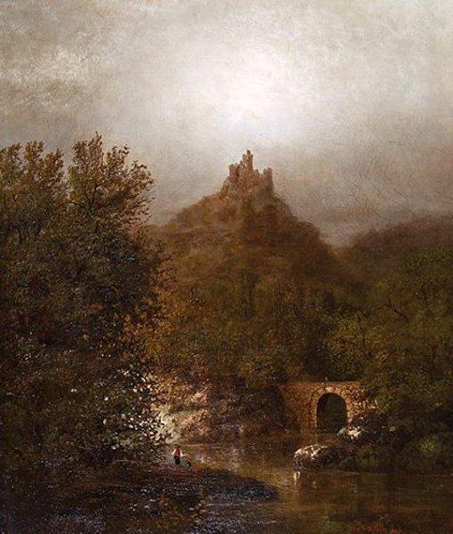 Castle Dinas Bran, Llangollen Wales
