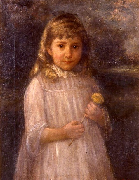 Mary C. Hardy As A Child