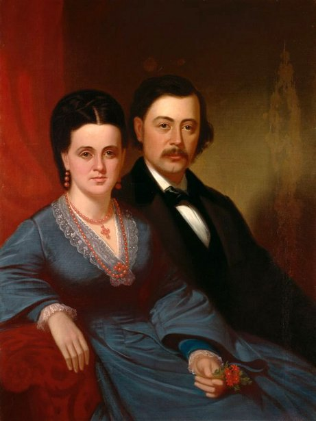 Mrs. B. W. Clarke And Her Brother