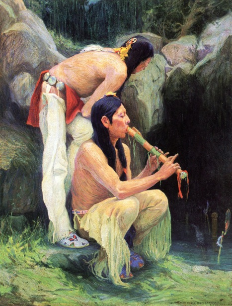 The Magic Flute - Flute Player At The Spring