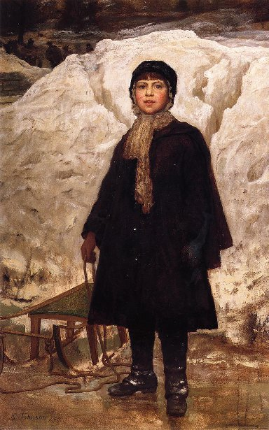 Winter - Portrait Of A Child