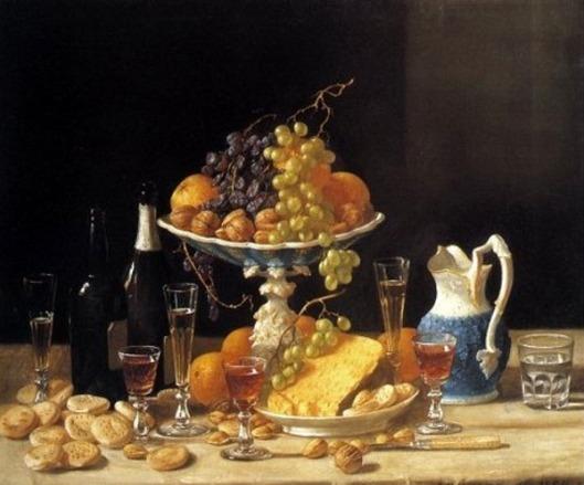 A Wine Tasters Table