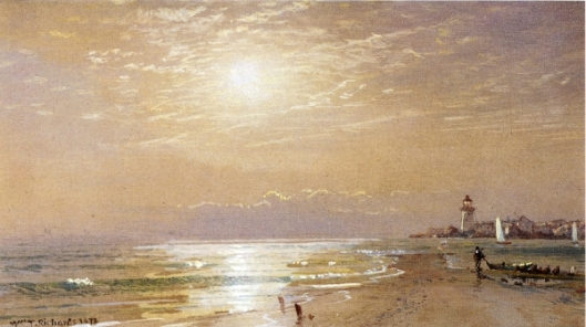 Along The Beach, Towards Sunset