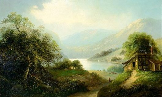 Alpine Lake - Swiss Landscape