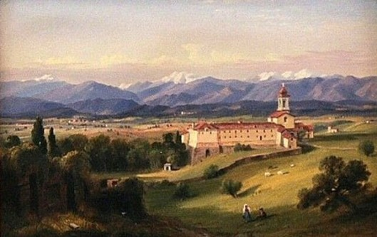 Apennines From A Convent