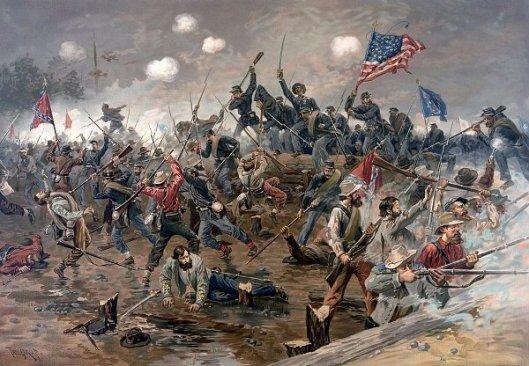 Battle Of Spottsylvania (Spotsylvania)