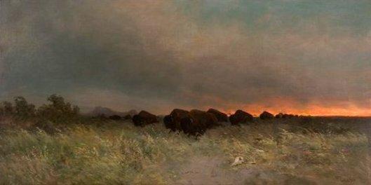 Buffalo Stampede - Prairie Fire