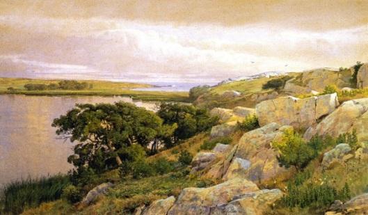 Cliffs Overlooking Bay