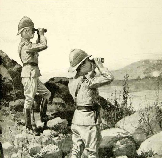 Cronje's Last Fight - General Lord Roberts Watching The Final Assault On The Boer Forces
