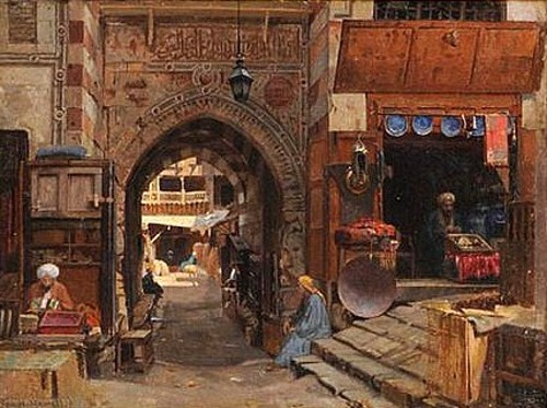 Entrance To The Old Slave Market, Cairo