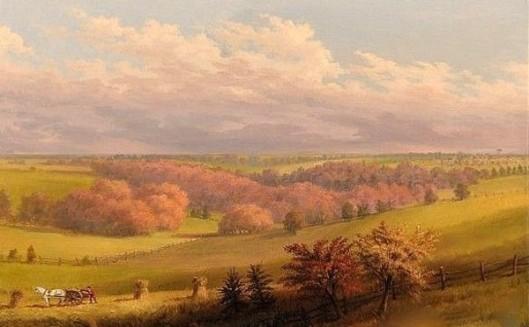 Jenkintown From Edgehill, Pennsylvania