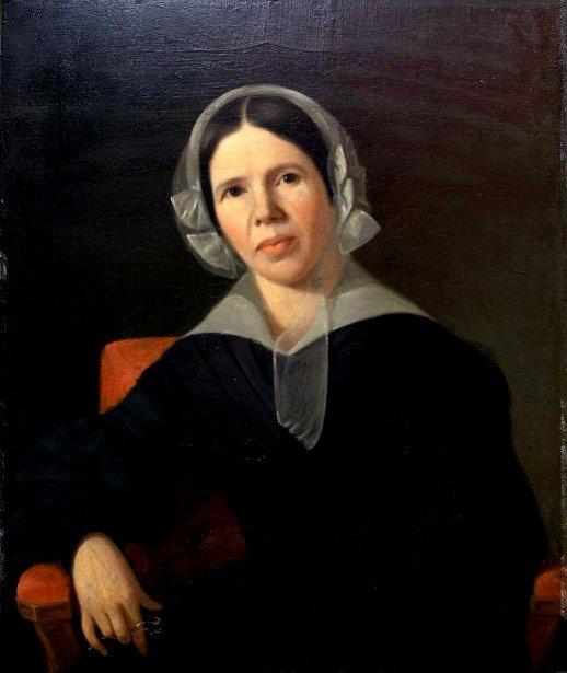 Lady Holding Glasses