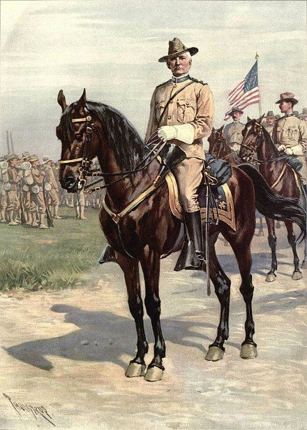 Major General Wesley Merritt During The Spanish-American War