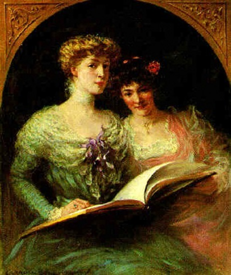 Miss Sophie And Miss Helen Langdon