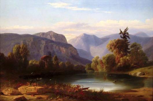 Moose Hill, Saco River