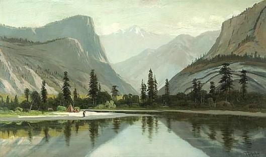 Morning On Mirror Lake, Yosemite Valley