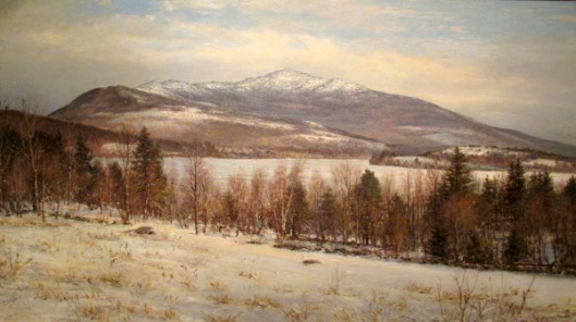 Mount Monadnock In Winter