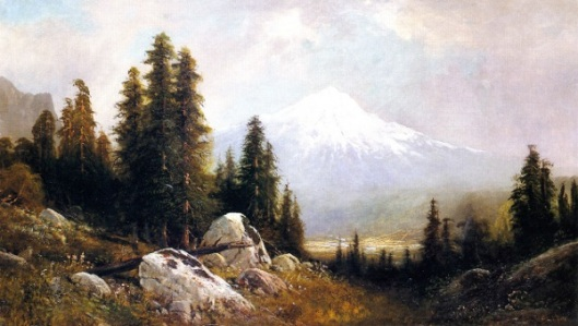 Mount Shasta - Mountain Composition