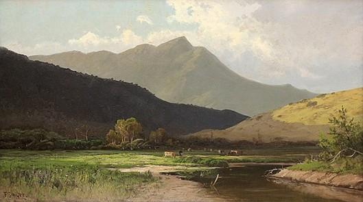 Mount Tamalpais, California, From Ross Valley