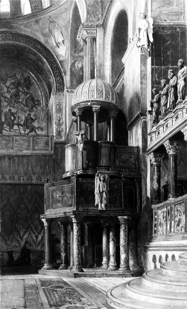 Pulpit In St. Mark's, Venice