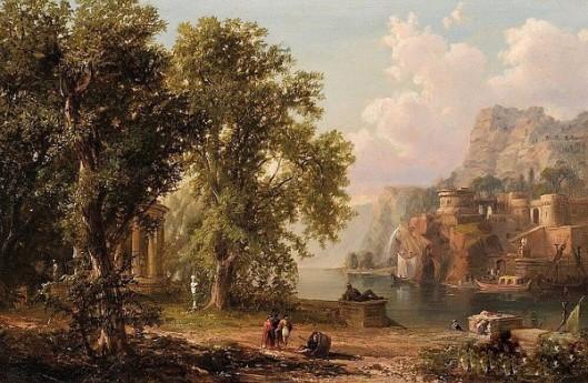 Romantic Classical Landscape