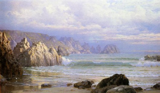 Seascape - Along The Cliffs