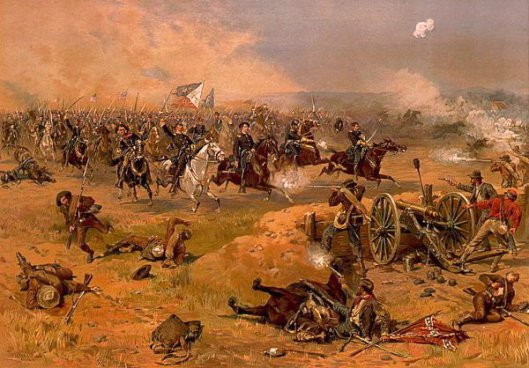 Sherman's Final Charge At The Battle Of Third Winchester
