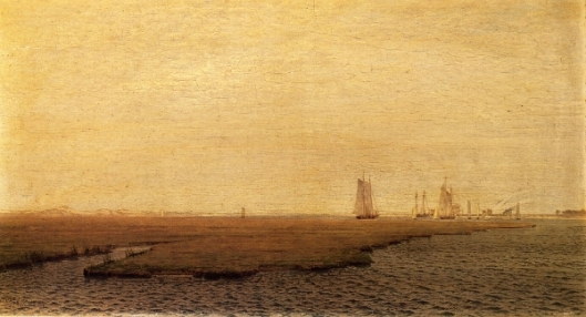 Ships In The Inlet, Atlantic City