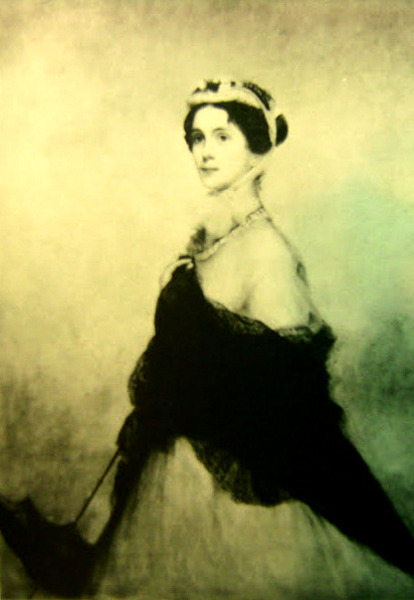 The Artist's Wife, Mary Hamilton