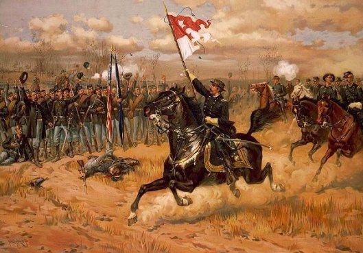 The Battle Of Cedar Creek - Sheridan's Ride