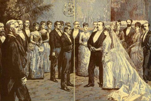 The President Grover Cleveland's Wedding