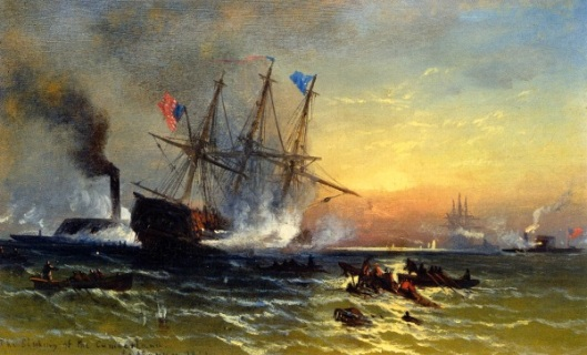 The Sinking Of The Cumberland