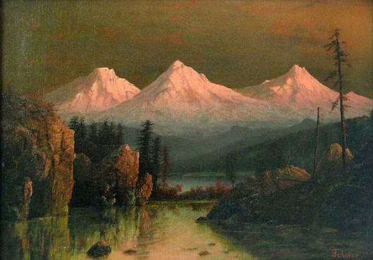 The Three Sisters, Oregon