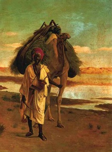 A Bedouin With A Camel