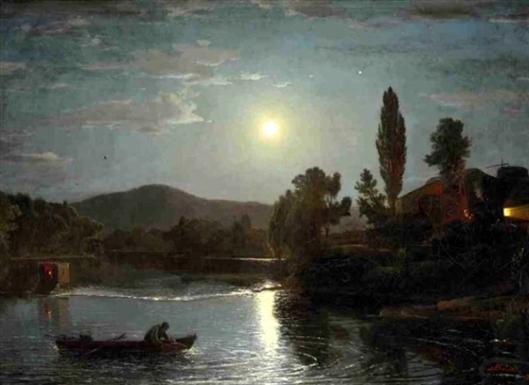 A Night River Scene