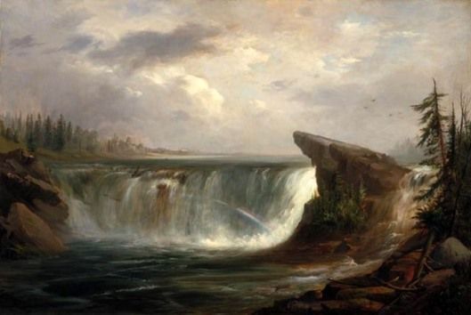 A Wet Morning On The Chaudière Falls
