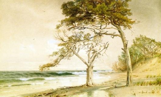 Beach Scene, Trouville-sur-Mer