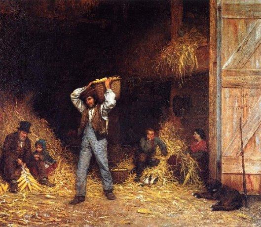 Corn Husking
