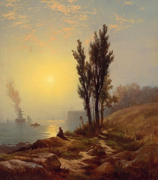 Early Dawn, New York Harbor