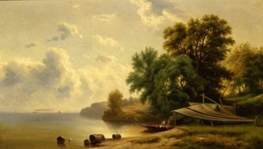 Landscape With Campsite
