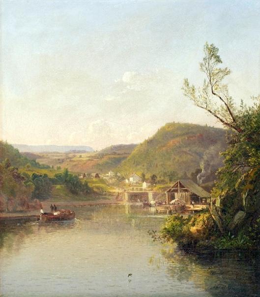 Locks At New Hope, Pennsylvania