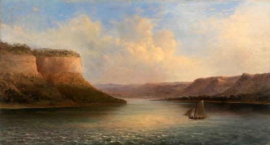 Maiden's Rock, Lake Pepin