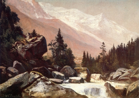 Mountain Landscape With Stream