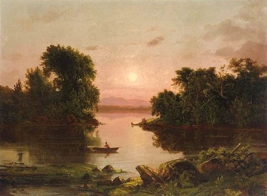 On The River, Sunset