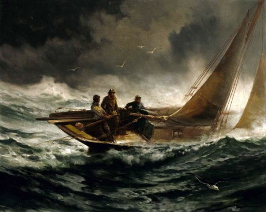 Riding Out A Gale