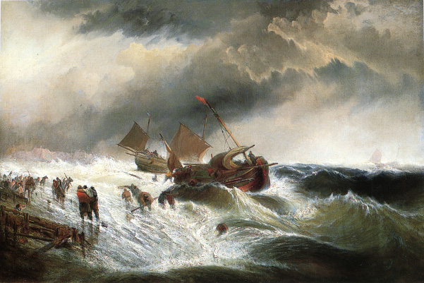 Famous Painting About Shipwreck