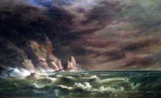 Storm Off The Irish Coast